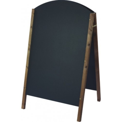 Large curved top chalkboard