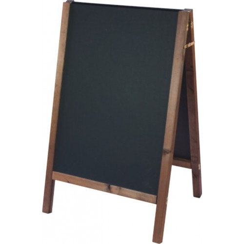 Large reversible straight top chalkboard