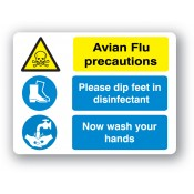 Disease Precaution Signs (9)
