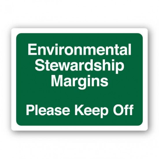 Environmental Stewardship Margin Sign