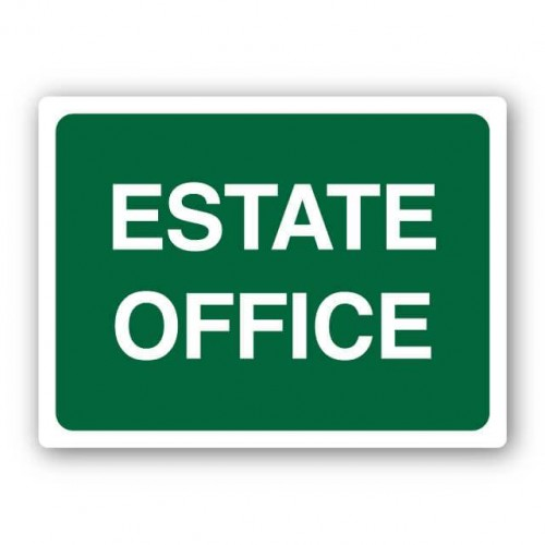 Estate Office Sign