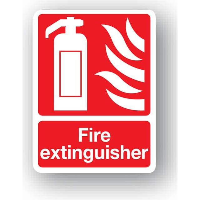 s29qp fire extinguisher sign