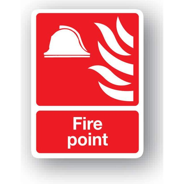 S30rp Fire Point Sign