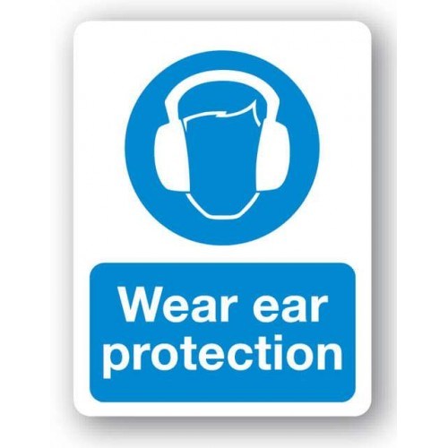 Wear Ear Protection Sign