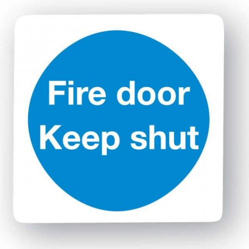 Fire Door - Keep Shut Sign