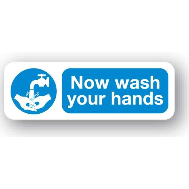 Now Wash Your Hands Sign Farm Sign