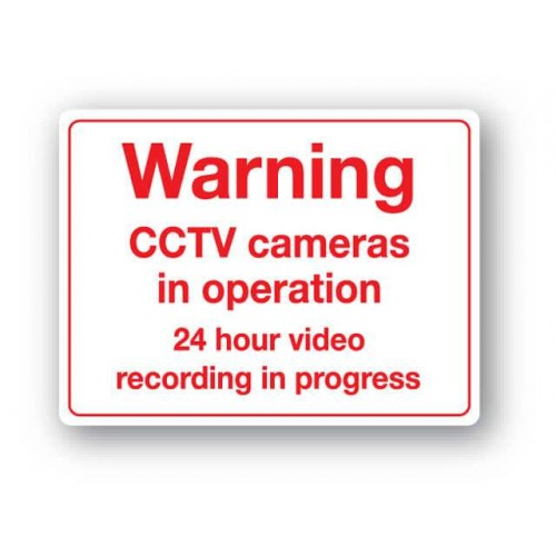 Warning - Cctv Cameras......Sign