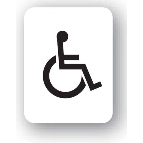 Disabled Pictogram Sign