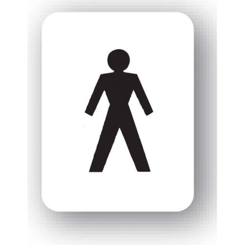 Gents Pictogram Sign