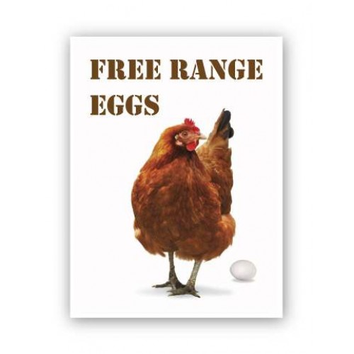 Free Range Eggs Produce Board