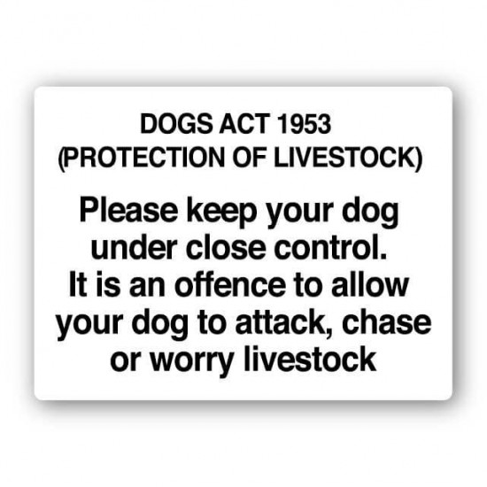The Dogs Act 1953 Please Keep Your Dog