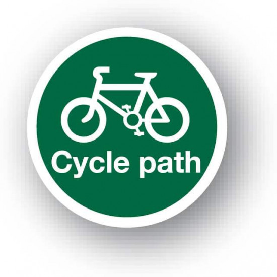 Cycle Path Waymarker Disc