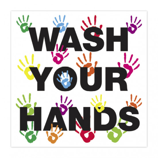 Wash your hands poster