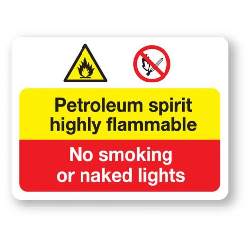 Petroleum Spirit Sign