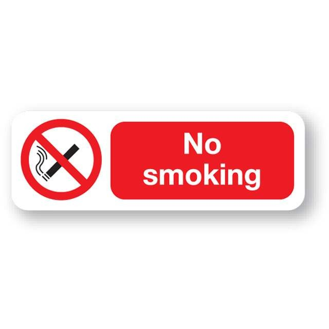 Smoking sign no