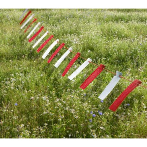 Red And White Marker Bunting