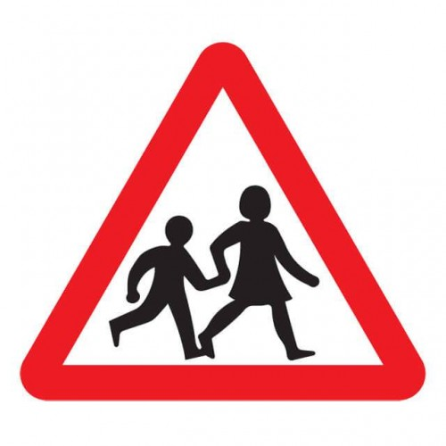 School Children Sign