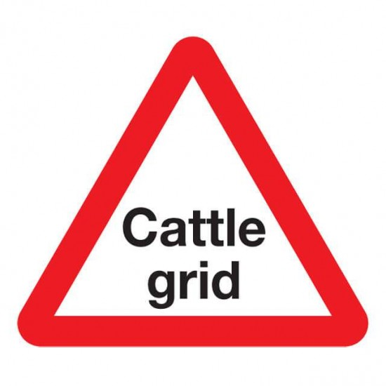 Cattle Grid Sign