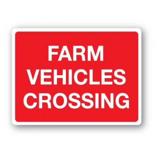 Farm Vehicles Crossing