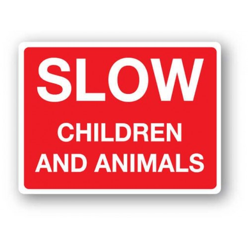 Slow Children And Animals