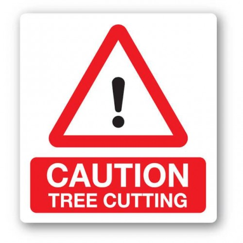 Caution Tree Cutting