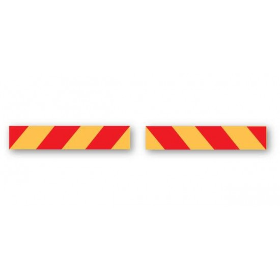 Red And Yellow Marker Boards (Pack Of 2)