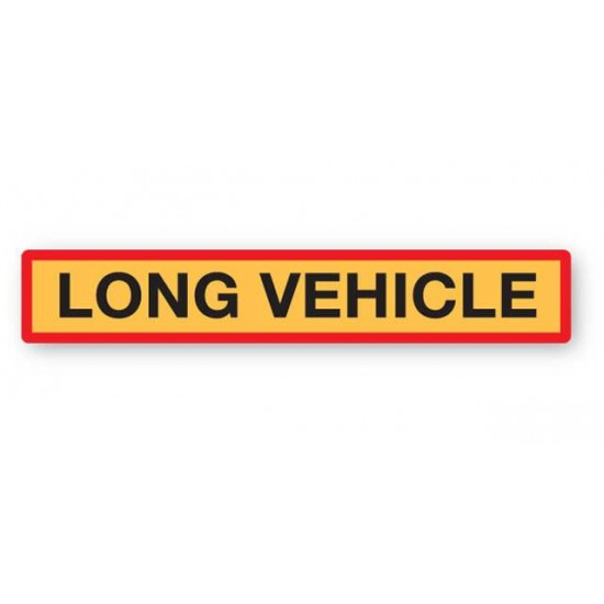 Long Vehicle Marker Board