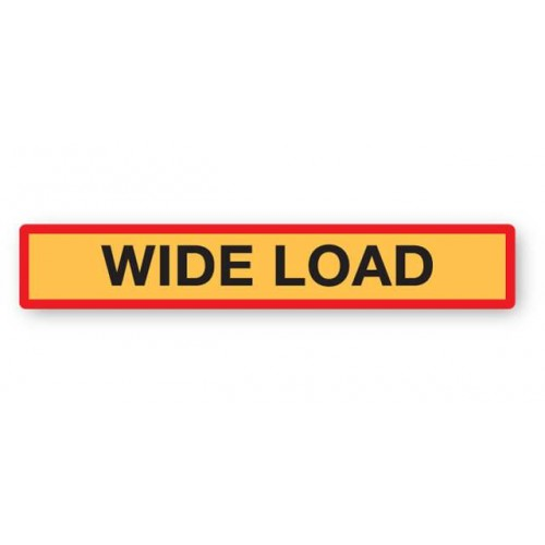 Wide Load Marker Board