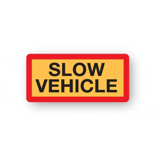 Slow Vehicle Marker Boards (Pack Of 2)