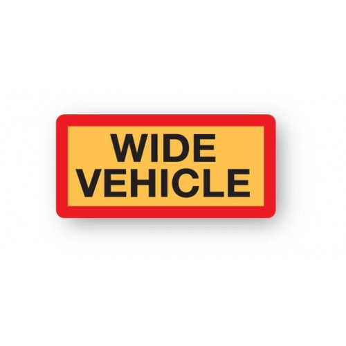Wide Vehicle Marker Boards (Pack Of 2)