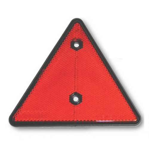 Triangular Reflector (Red)