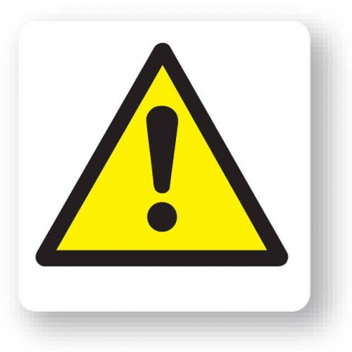 Warning Symbol Sign