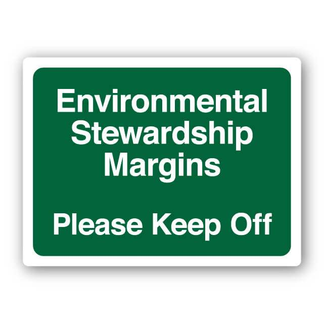 Environmental Stewardship Margin Sign 300x400mm