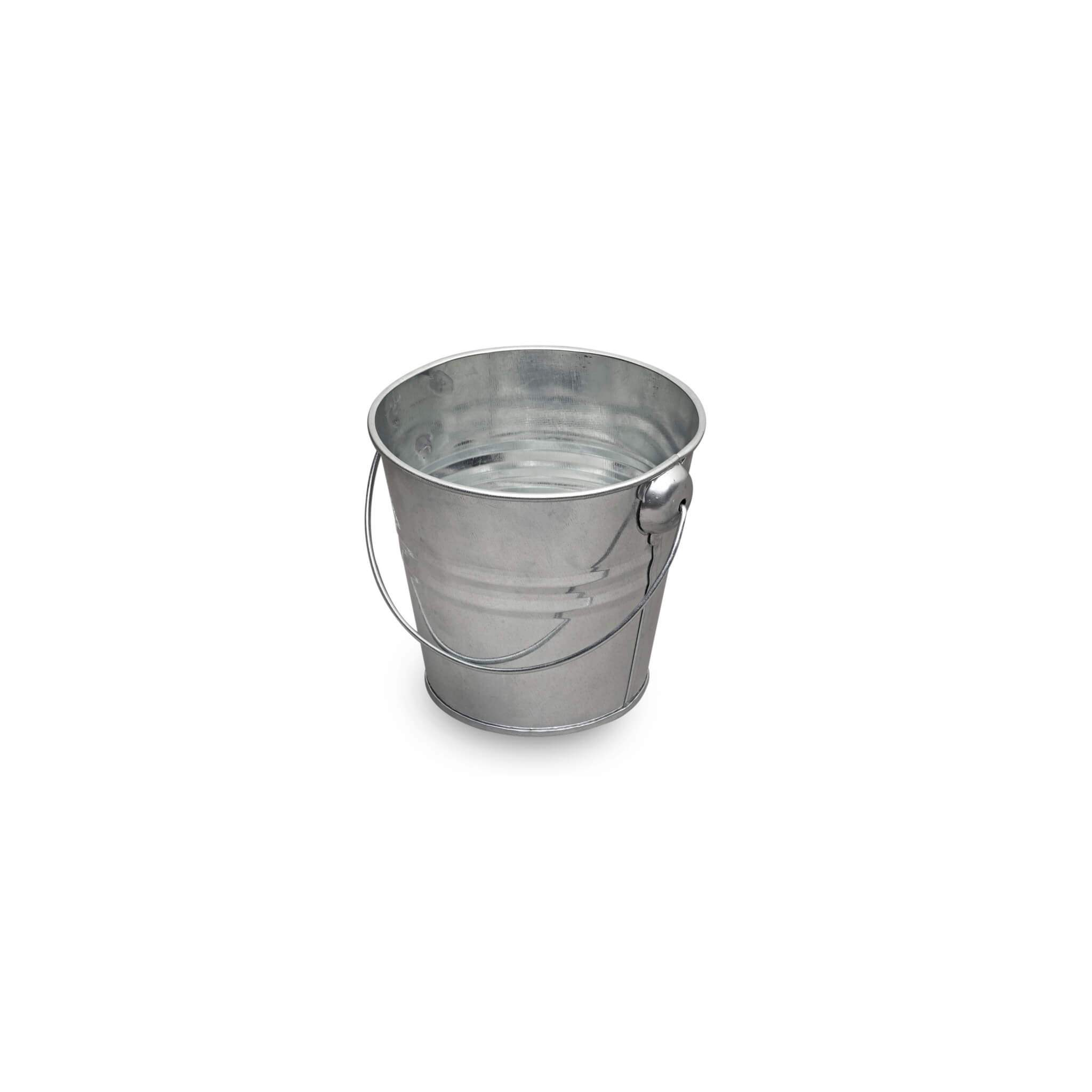 Small galvanised metal bucket for Small pail buckets