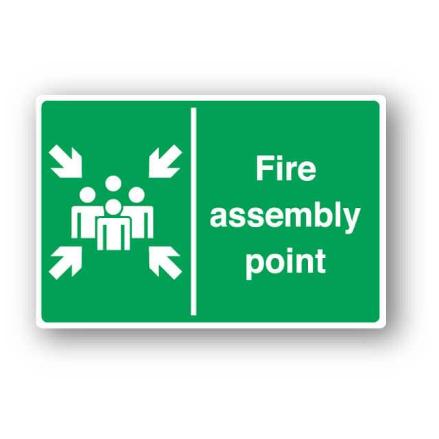 Fire Assembly Point Sign Farm Signs