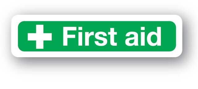 S15fp First Aid Sign