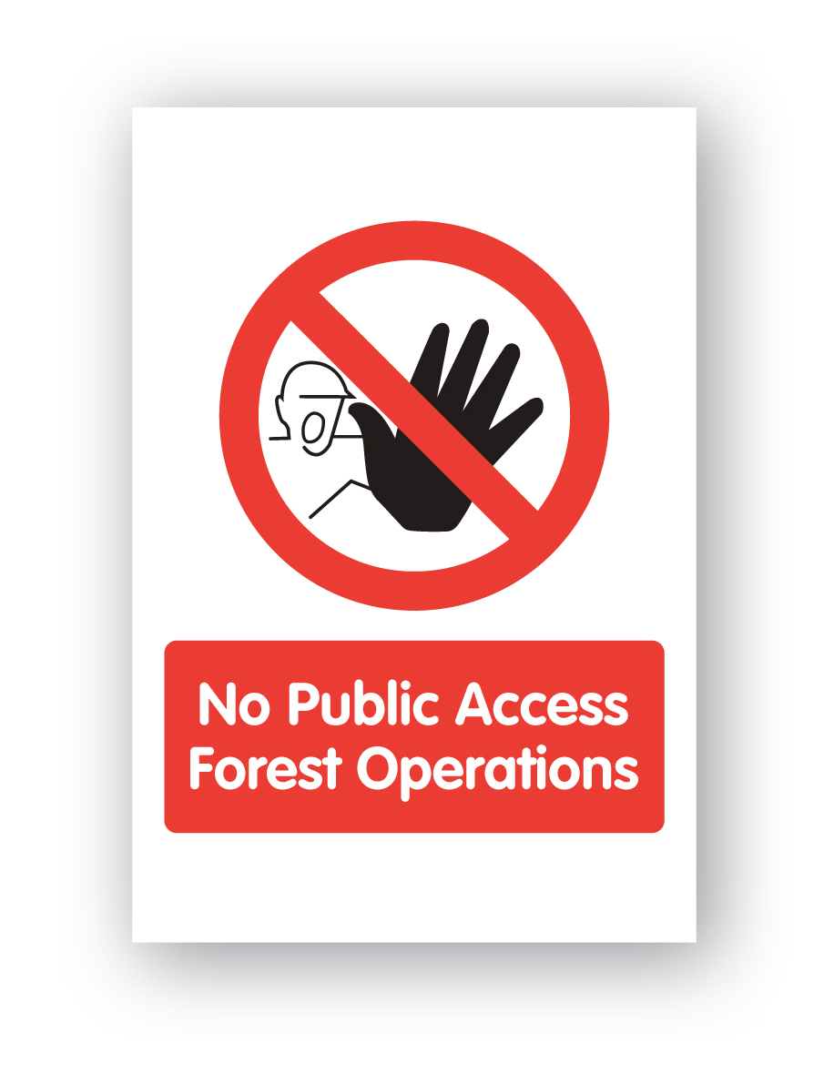No Public Access Forest Operations